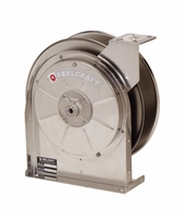 "Reelcraft 5600-OLS-S 3/8"" x 35' Stainless Hose Reel, 300 PSI No Hose"