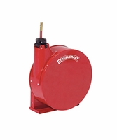 "Reelcraft 5630-ELP 3/8"" x 30' Enclosed Hose Reel, 300 PSI w/ Hose"