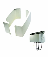 Reelcraft 600231 Cabinet Mounting Brackets - Side Panel Assembly