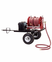 Reelcraft 600910 Hose Reel Trailer Package (Electric Rewind)