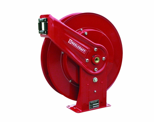 Reelcraft 7607-OLP Heavy Duty 3/8 x 70ft Hose Reel 500 PSI without Hose