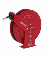 "Reelcraft 7440-OHP 1/4"" x 40' Spring Retractable Hose Reel, 5000 PSI w/ Hose"