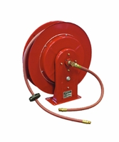 """Reelcraft 7650-CHP 3/8"""" x 50' Series 7000 C Retractable Hose Grease Reel 4800psi"""