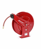 "Reelcraft 7650-OLP-HTH 3/8"" x 50ft High Operating Temperature Hose Reel w/ Hose"