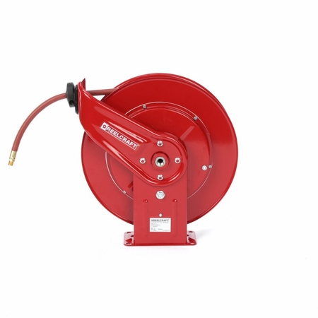 Reelcraft 7850-OLP 1/2 x 50ft, 300 psi, Air / Water Reel with Hose