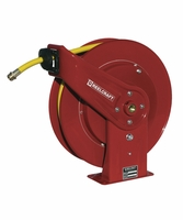 "Reelcraft 7850-OLPSW57 1/2"" x 50' Spring Driven Garden Hose Reel for Water"