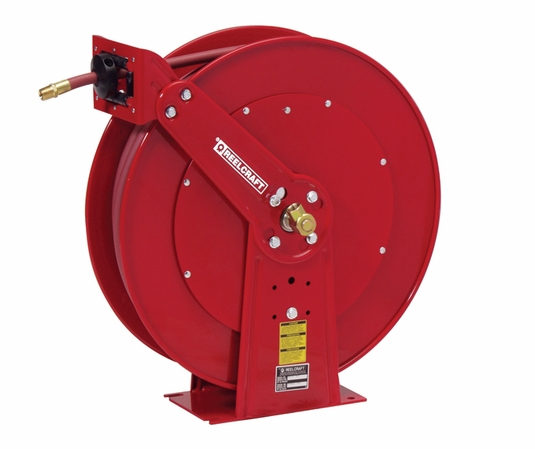 Reelcraft 82075-OLP 1/2 x 75ft, 300 psi, Air / Water Reel with Hose