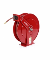 "Reelcraft 82100-OLP-HTH 1/2"" x 100ft High Operating Temperature Hose Reel w/ Hose"