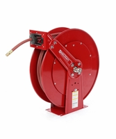 "Reelcraft 83050-OLP-HTH 3/4"" x 50ft High Operating Temperature Hose Reel w/ Hose"