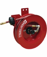"Reelcraft A5825-OLPSML 1/2"" x 25 ft Side Mount Air/Water Hose Reel (inlet left)"