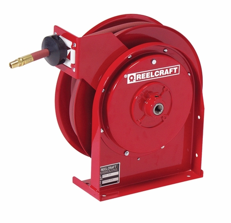 Reelcraft B5825-OMP 1/2 x 25ft, 2000 psi, Spring Retractable Air/Water with Hose