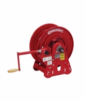 "Reelcraft BA32112-M 1/2"" x 200' 1000psi Bevel Crank Oil Reel - No Hose"