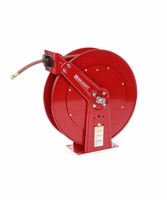 "Reelcraft D83075-OLP-HTH 3/4"" x 75ft High Operating Temperature Hose Reel w/ Hose"