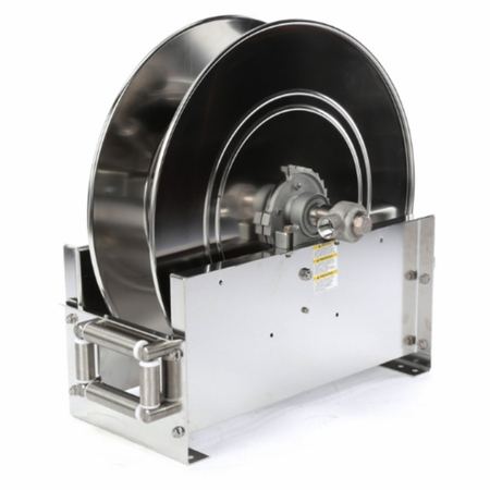 Reelcraft D9300-OLS 3/4 x 75' Ultimate Duty Stainless Hose Reel, 500 PSI No Hose