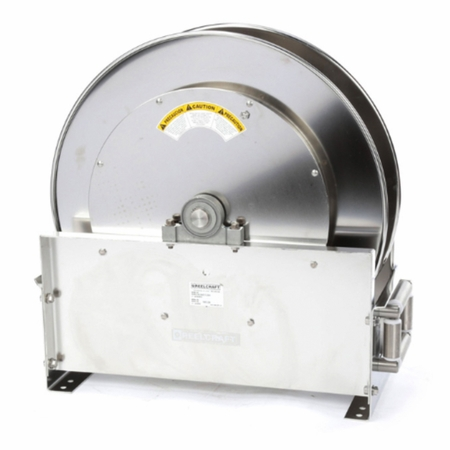 Reelcraft D9400-OLS 1 x 50' Ultimate Duty Stainless Hose Reel, 500 PSI No Hose
