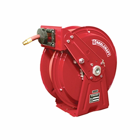 Reelcraft DP7850-OLP121 1/2 x 50ft, 300 psi, Air / Water with Hose