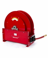 "Reelcraft FE9450-OLP 1"" x 50' Spring Retractable Fuel Hose Reel, 50 PSI w/ Hose"