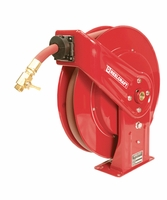 "Reelcraft GC7925-OLP 3/4"" x 25' Spring Retractable Heavy Duty Water Hose Reel"