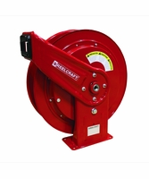 Reelcraft HD74000-OHP 1/4 x 75' High Pressure Grease Hose Reel 5000psi