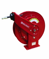 Reelcraft HD74100-OHP 1/4 x 100' High Pressure Grease Hose Reel w/Hose
