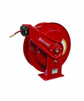 Reelcraft HD76075-OLP 3/8 x 75' HD Spring Retract Air/Water Reel 300psi w/hose