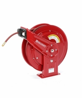 "Reelcraft HD76075-OLP-HTH 3/8"" x 75ft High Operating Temperature Hose Reel w/ Hose"
