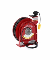 Reelcraft L-4050-163-3 16 AWG / 3 Cond x 50ft, 15 AMP, Single Outlet, With Cord
