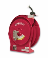 Reelcraft L-5550-124-X Power Cord Reel 12/4 50ft, 15 Amp, Flying Lead