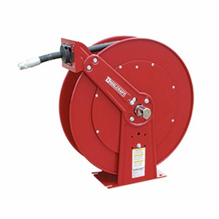 Reelcraft PW81100-OHP 3/8 x 100' 4800PSI Pressure Wash Hose Reel with Hose