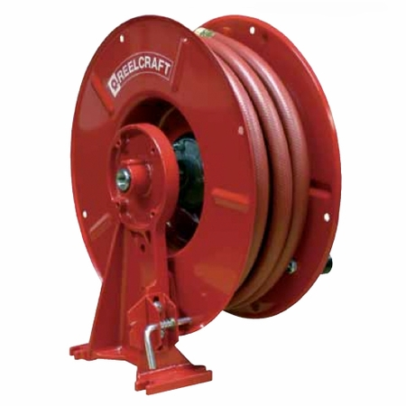 Reelcraft PWHC86150-H 3/8 x 150, 4800 PSI, Pressure Wash Reel with Hose