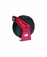 """Reelcraft RT406-OLP 1/4"""" x 65' Spring Retractable Reel, 300 PSI No Hose"""
