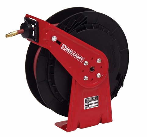 Reelcraft RT435-OLP 1/4 x 35ft, 300 psi, Air / Water With Hose