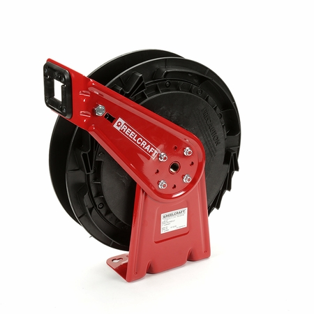 Reelcraft RT406-OLP 1/4 x 65' Spring Retractable Reel, 300 PSI No Hose