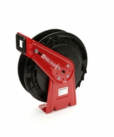 "Reelcraft RT406-OLP 1/4"" x 65' Spring Retractable Reel, 300 PSI No Hose"