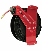 "Reelcraft RT835-OLPSM 1/2"" x 35' Side Mounted Reel, 300 PSI w/ Hose"