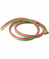 Reelcraft S600100-6 1/4 dual x 6, 200 psi, Inlet Welding Hose Assembly