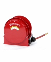 "Reelcraft SD14050-OLP-HTH 1"" x 50ft High Operating Temperature Hose Reel w/ Hose"