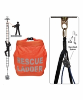 SafeWaze FS-EX243-BL 18' Rescue Ladder with Belay