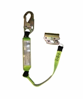 SafeWaze FS00SP/FS1117-3 3' Energy Absorbing Lanyard attached to Non-Removable Fall Arrester Manual