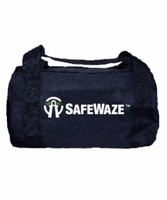 SafeWaze FS8125 Small Black Zipper Duffle Bag 13""