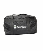 SafeWaze FS8150 Large Black Zipper Duffle Bag 20""