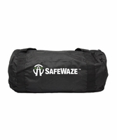 SafeWaze FS8175 Extra Large Black Zipper Duffle Bag