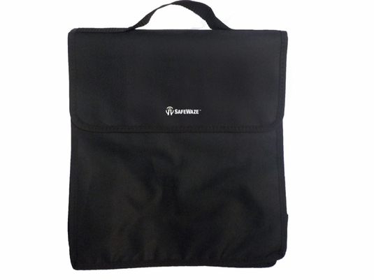 SafeWaze PA-PK003 Small Black Carrying Bag with Hand Strap