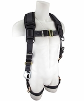 SafeWaze SW99281-HW Three D-Ring Harness with Grommet Leg Straps: 3XL - 4XL  420 lb. Rating