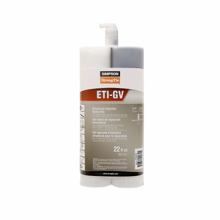 Simpson Strong-Tie ETIGVKT2 Gel-Viscosity Epoxy Bulk Kit, 2 gal.