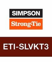 Simpson Strong-Tie ETISLVKT3 Super-Low-Viscosity Injection Epoxy Bulk Kit, 3 gal