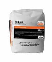 Simpson Strong-Tie FX-261S Polymer Repair Mortar 50lb Bag