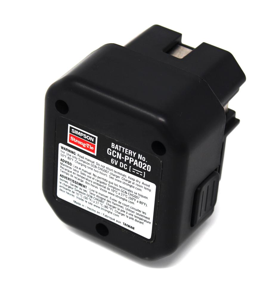 Simpson Strong Tie Gcn Ppa020 Battery For Mep Gas Concrete