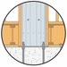 Simpson Strong-Tie SSW18-1KT Steel Strong-Wall 18 1st Story Kit