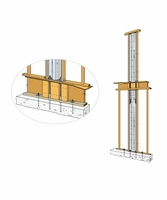 "Simpson Strong-Tie SSW18-2KT Steel Strong-Wall 18"" 2 Story Kit"